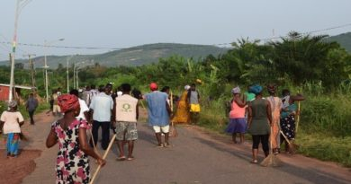 Community members in Dodowa contributing to sustainability transitions in their communities